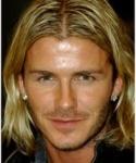 Longs blonds avec raie au milieu